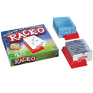 Amazon Racko Card Game Modified With Brailled Cards Health