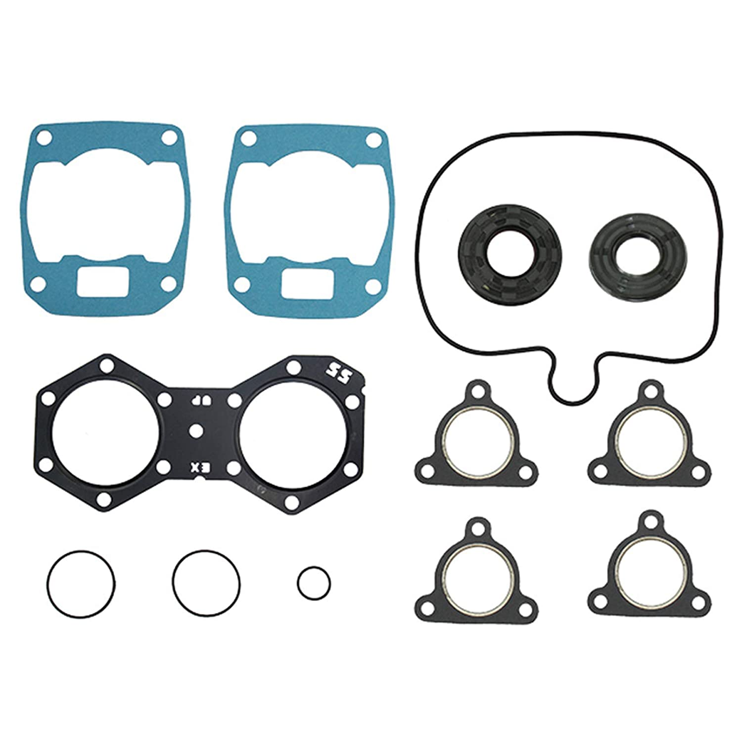 Complete Gasket Set w//Oil Seal For 2014 Polaris 550 INDY Snowmobile