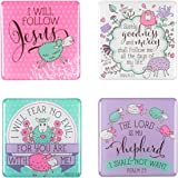 Psalm 23 Collection Inspirational Fridge Magnet Set (4)