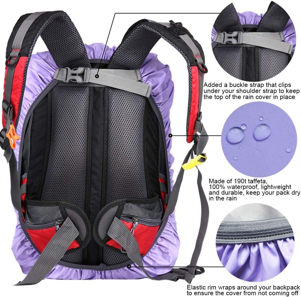 Waterproof Backpack Rain Cover Elastic Adjustable Bag Outdoor Riding Climbing J