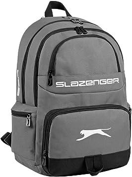 Slazenger - Mochila casual Gris gris/negro: Amazon.es: Equipaje