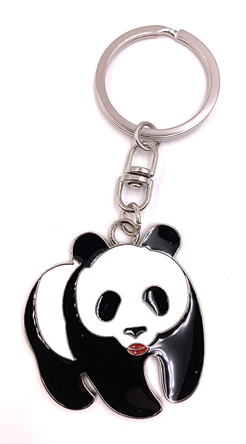 Onlineworld2013 Llavero Panda Oso Dulce Andante Colgante de ...
