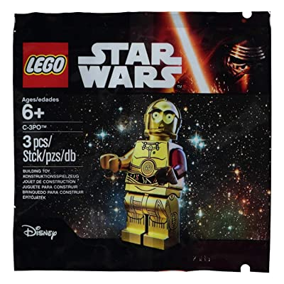 LEGO, Star Wars: The Force Awakens, C-3PO Exclusive Figure: Toys & Games