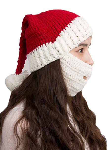 choies unisex santa claus hats ugly christmas child beanies hat - Ugly Christmas Hats