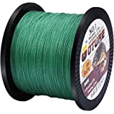 Goture 12LB-80LB Superpower Braided Fishing Line Multifilament High Tension 500M/547Yards Line-Abrasion Resistance Fishing Line for Saltwater Freshwater Fishing, Bass and Trout Fishing