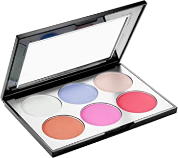 Sephora 6-Shade Holographic Face & Cheek Palette + Free 2 Samples