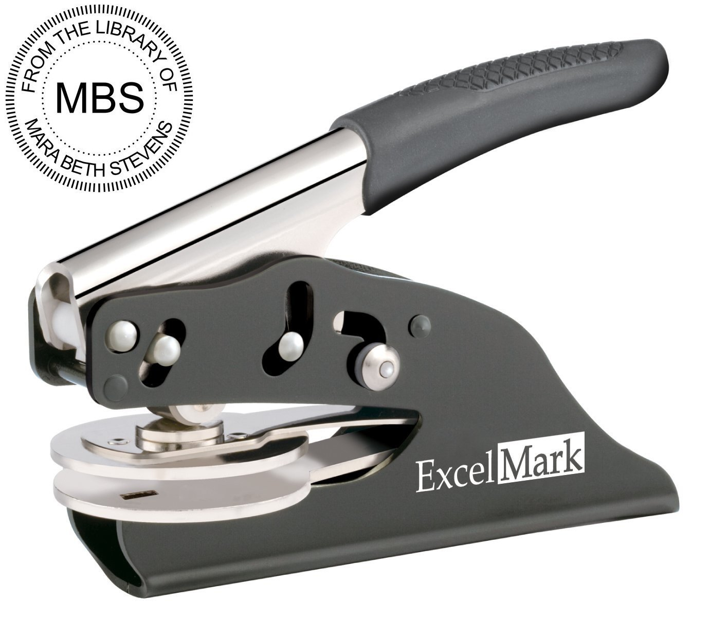 ExcelMark from The Library of Personal Hand Embosser