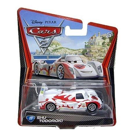 Amazon Com Disney Pixar Cars 2 Movie 155 Die Cast Car 22 Shu