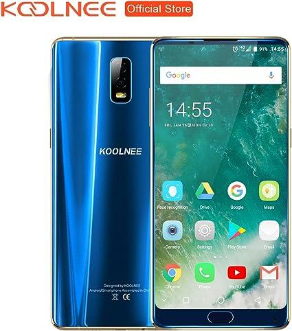 KOOLNEE K1 Smartphone 4G Desbloqueado Sin bisel 6 GB RAM + 128 GB ROM 6.01 pulgadas