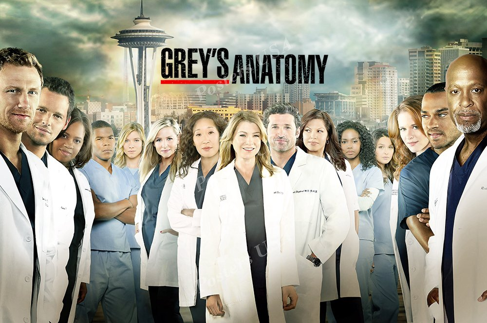 Amazon Posters Usa Greys Anatomy Tv Series Show Poster