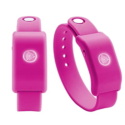 Cra-Z-Art SoundMoovz Musical Bandz, Motion-Activated, Bluetooth Music player – Pink: Toys & Games