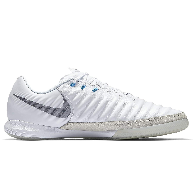 check out 7ab4c e8dc5 Nike Lunar Legendx 7 Pro Ic - White/MTLC cool Grey-Blue Hero - Fussball- Indoor-Schuhe (IN)-Herren, Größe:13: Amazon.de: Sport & Freizeit