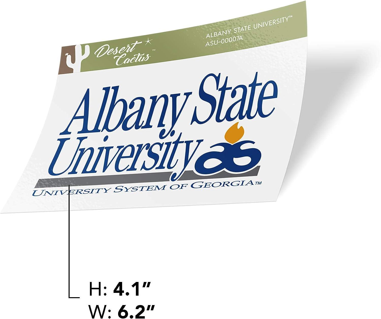 Sticker - 00007A Albany State University ASU Golden Rams NCAA Vinyl Decal Laptop Water Bottle Car Scrapbook