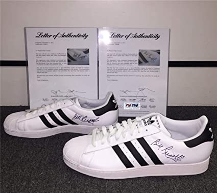 fb7b82b6e47 BILL RUSSELL Autograph Signed Adidas Shoes   COA LOA   Boston Celtics -  PSA DNA Certified - Autographed NBA Sneakers at Amazon s Sports  Collectibles Store