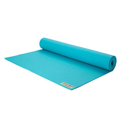 Jade Yoga limited edition Harmony mat Teal: Amazon.es ...