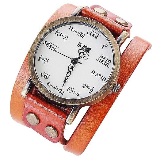 Dosige Moda Simple de Dos Anillos Reloj de Cuarzo Digital ...