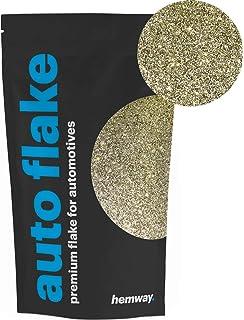 Purpurina metálica Hemway para agregar a pintura líquida o en aerosol para vehículos, bicicletas,