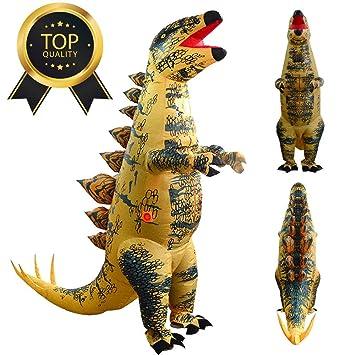 Amazon.com: Lucoo - Disfraz de dinosaurio Stegosaurus ...