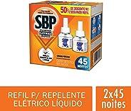 Repelente Elétrico Líquido SBP Com Refil, Pacote Com 2 Unidades