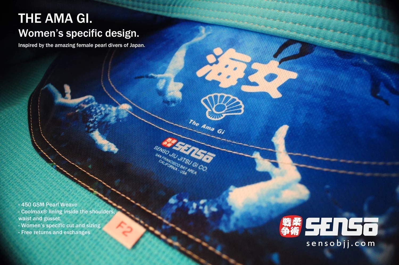 Senso Jiu Jitsu THE AMA – Women 's GI  F2