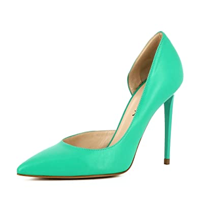Evita Shoes Alina Escarpins Femme Semi-Ouverts Daim Vert 42  Baskets pour homme Verts - - Verts Reebok Phase 1 Pro Cv - Age - Adulte Reebok  5  47 EU PNyJF