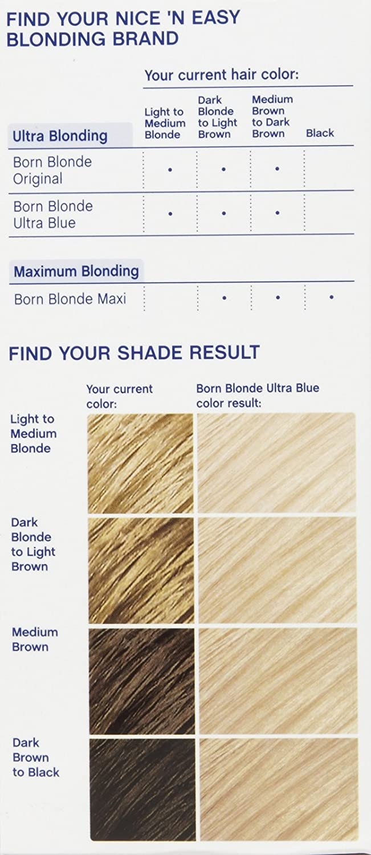 Amazon Clairol Nice N Easy Born Blonde Hair Color Ultra Blue