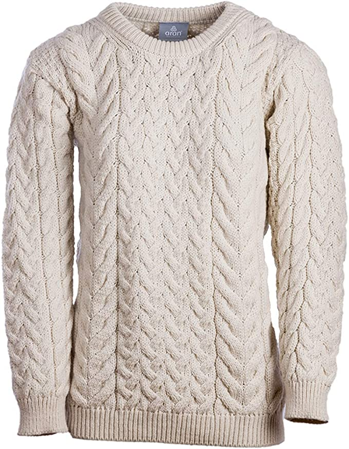 Aran Mills The Scotland Kilt Company Ladies Cable & Weave