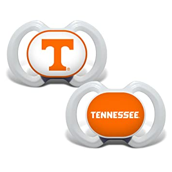 Baby Fanatic 2 Piece Pacifier Set, University of Tennessee Vols