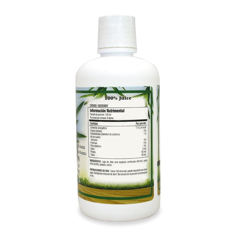 Amazon Dynamic Health Organic Aloe Vera Sin Sabor 946 Ml Personal Care