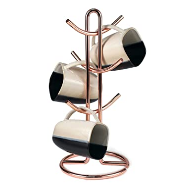 Spectrum Euro Mug Holder Made of sturdy steel with Copper Finish