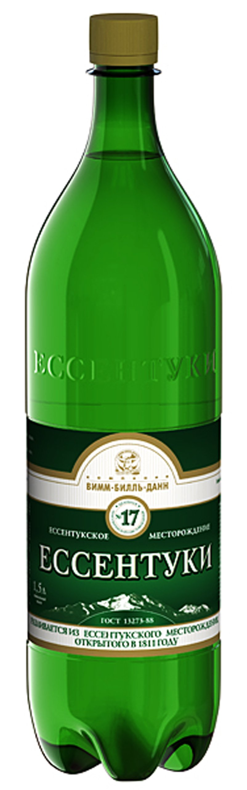 Imported Russian Sparkling Water ''Essentuki No.17'' 1.5L