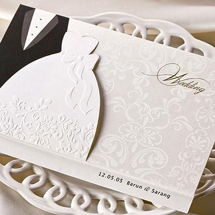 Juegos de invitaciones de boda VStoy, tarjetas de invitación para compromiso de estilo