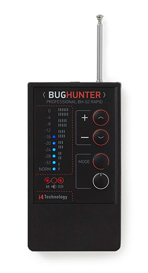 Amazon.com : Anti Spy Bug Hidden Camera Microphone Detector Bug Hunter BH-02 RAPID : Camera & Photo