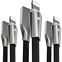 3-Pack Aimus Lightning Cable with Zinc Alloyed Connector