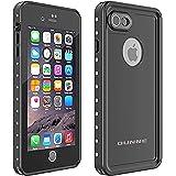 OUNNE iPhone 7/8 Waterproof Case,Underwater Full Sealed Cover Shockproof Dirtproof IP68 Certified Waterproof Case for iPhone