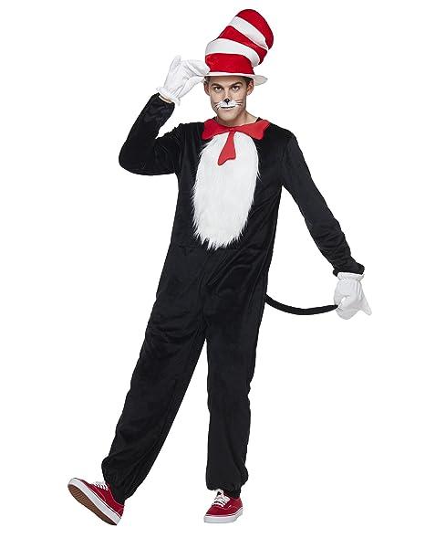 Amazon.com: Disfraz de gato de Halloween para adulto en el ...