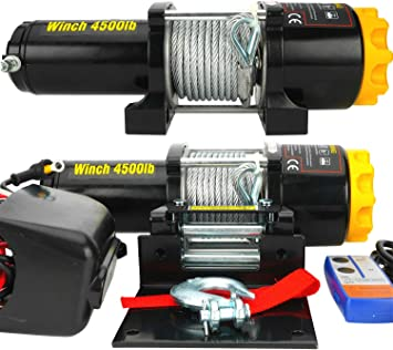 Champion Power Equipment 3000 Lbs Winch Kit 13004 The Home Depot