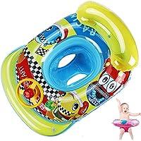 young Forever Anillo de natación inflable para bebés y niños pequeños con asiento redondo para nadar o para ayudar a…