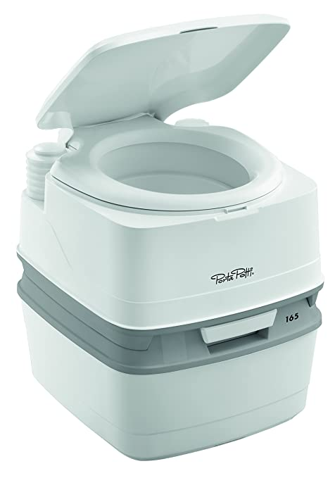 Thetford Porta Potti QUBE 165 WC Chimico portatile, Bianco: Amazon ...