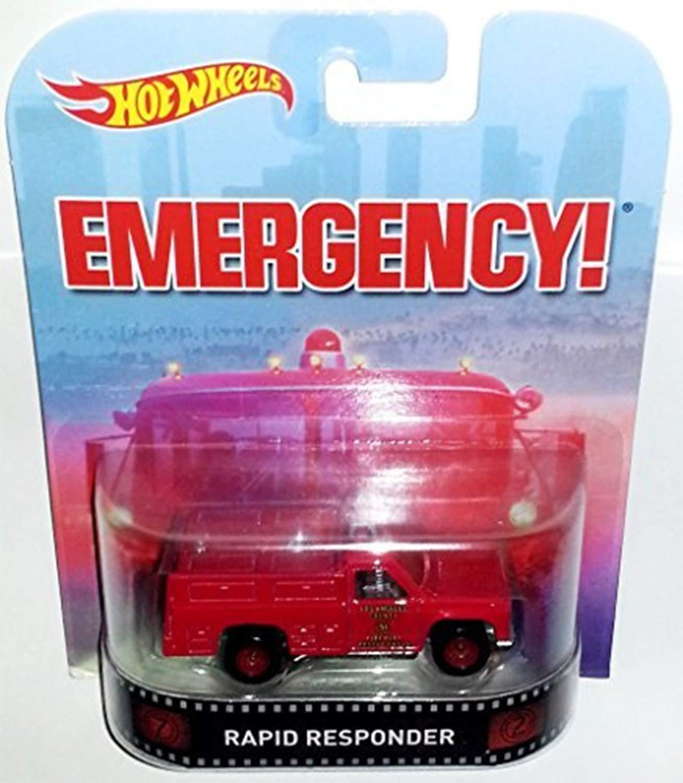 Hot Wheels Retro Emergency Rapid Responder Die Cast by Hot Wheels