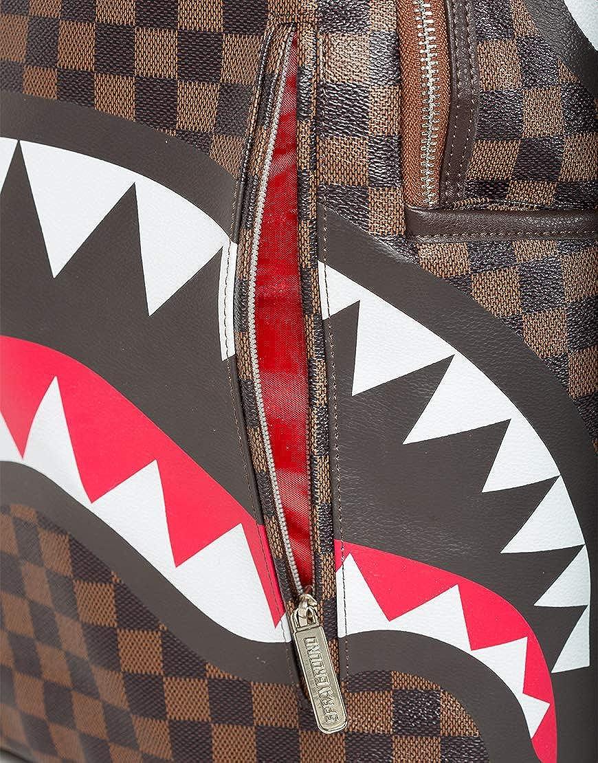 Zaino Shark in Paris Mini Brown Sprayground