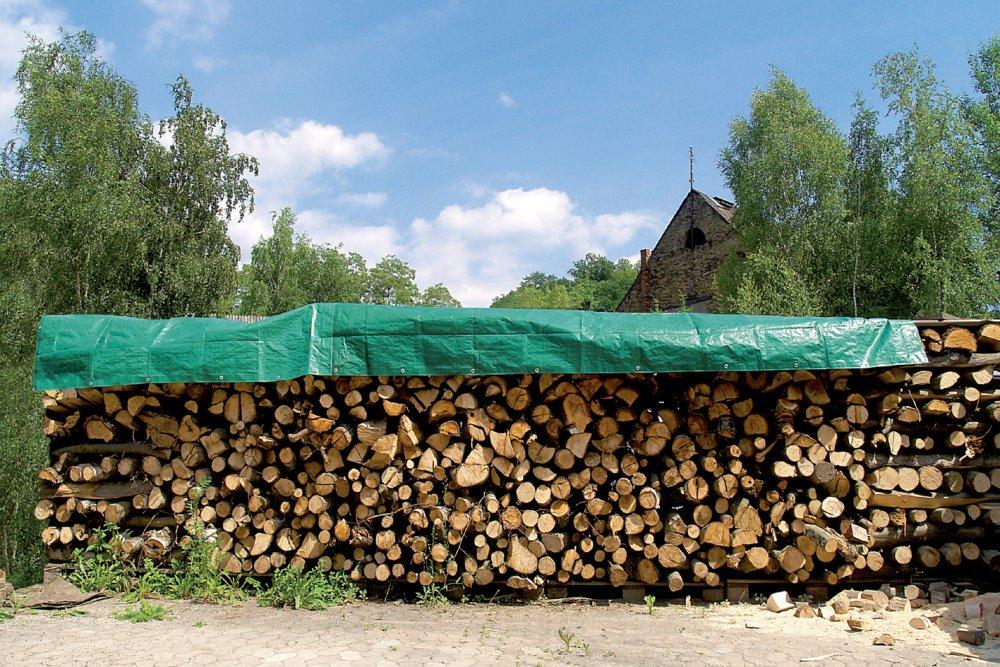 Wolfcraft 5124000 Bâche spécial bois Résistante / Imperméable 6 x 1,5 m