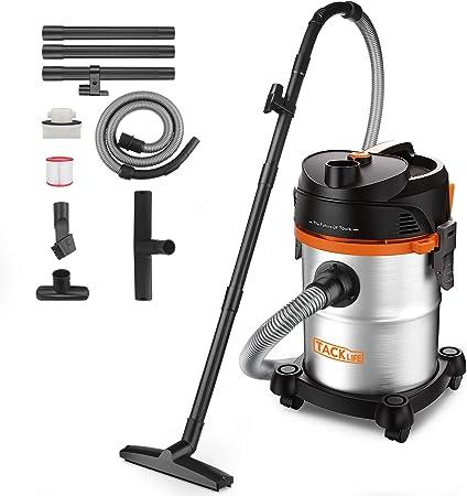 Opinión sobre TACKLIFE Aspirador Seco Húmedo, 1200W 20L Compacto Aspiradora Hogar con silenciador, Ahorro de energía, para Uso en el hogar o vehículos