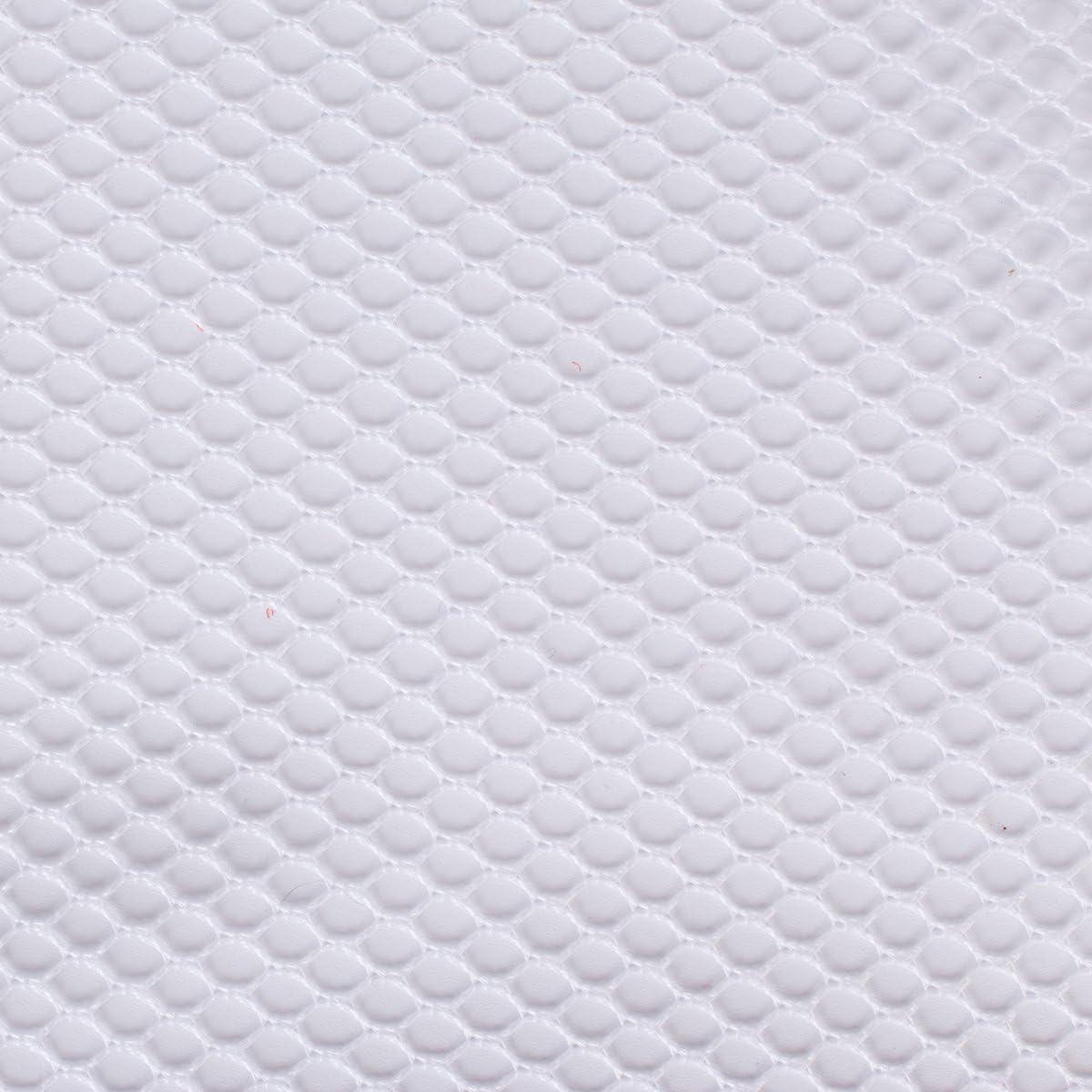 byannie sup209de White Lightweight Mesh Fabric, 18x 54Inch Aprox. 45,7x 137cm Red plástico, 100% poliéster, Blanco, 28x 20x 1cm