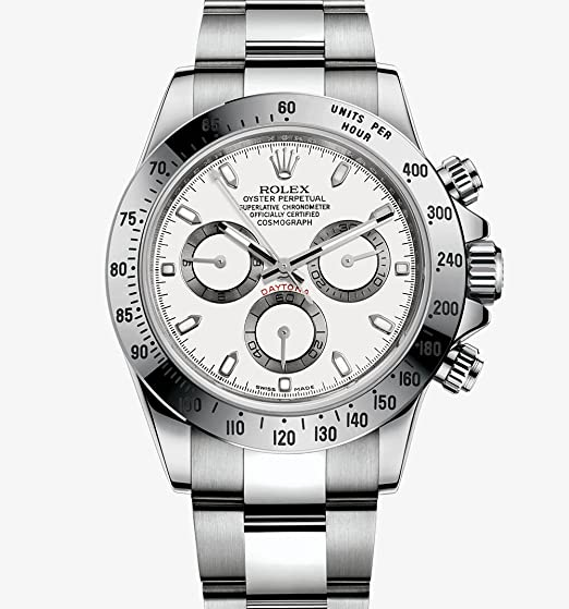 516c018535e Image Unavailable. Image not available for. Colour  Rolex Men s Cosmograph  Daytona Oyster Watch ...