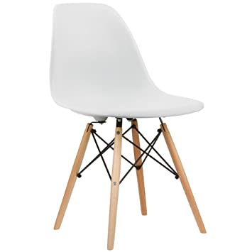 AHOC Charles U0026 Ray Inspiriert Eiffel DSW Retro Design Wood Style Stuhl Für  Büro Lounge Küche