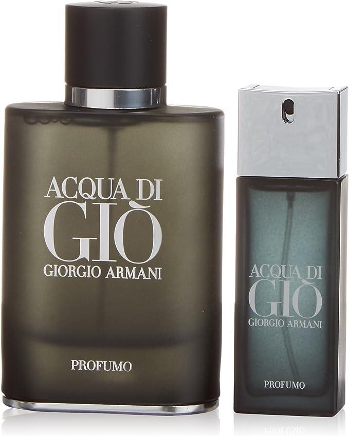 Armani Acqua Di Gio Agua de Perfume + Agua de Perfume Mini - 1 Pack: Amazon.es: Belleza