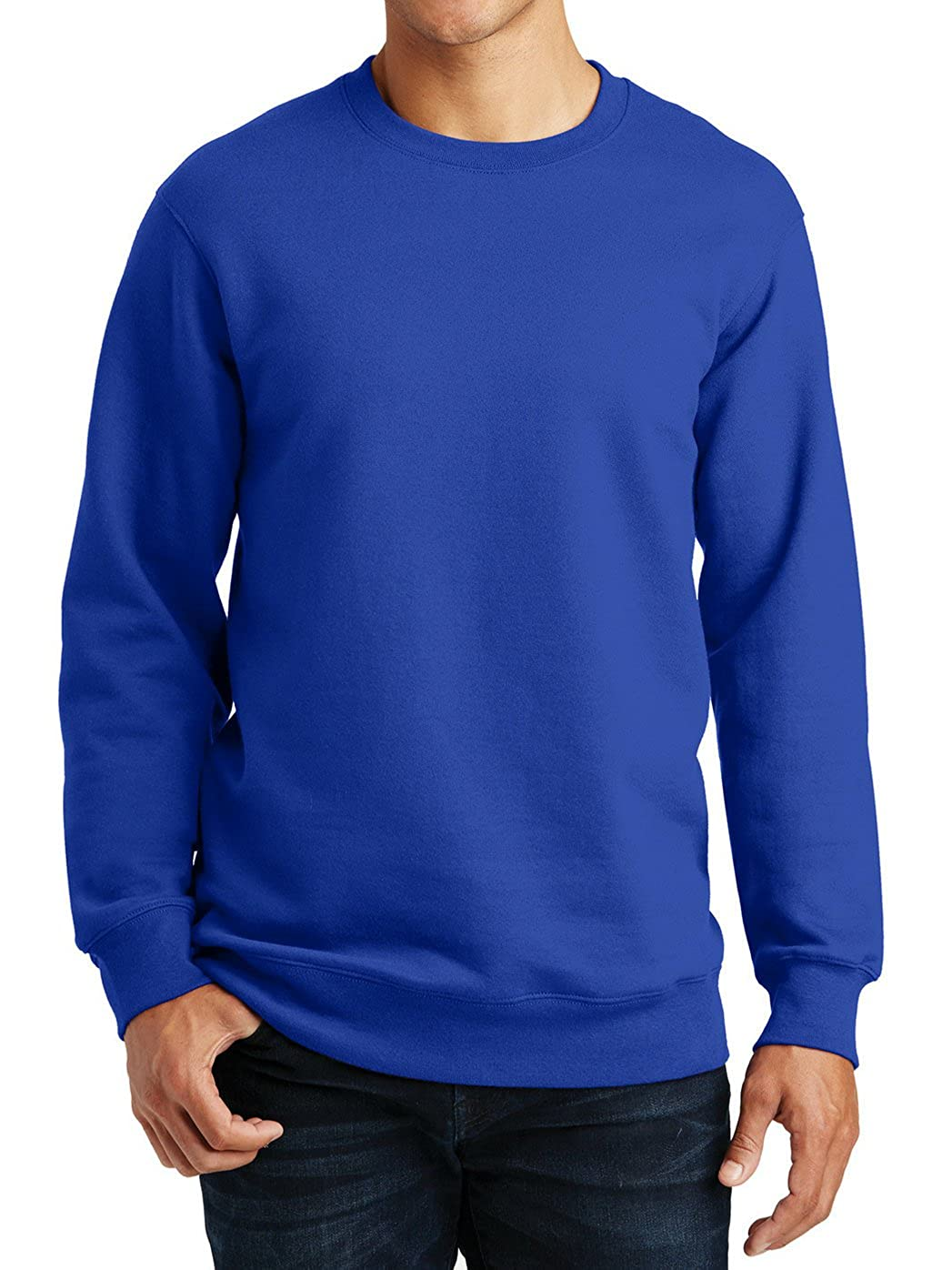 Men's Long Sleeves Fan Favorite Fleece Crewneck Sweatshirt Mafoose
