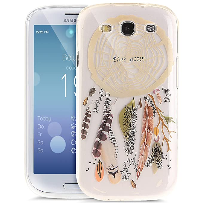 10 opinioni per ikasus Cover Galaxy S3/S3 Neo, Fiore colorato Arte Dipinta Cover Custodia Gel