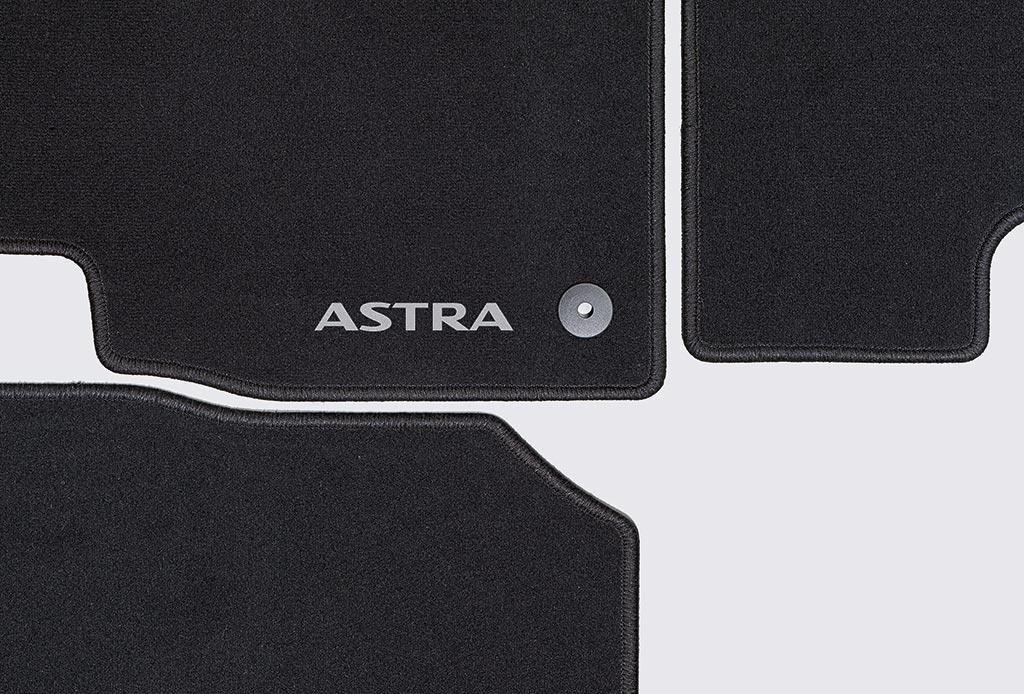 Amazon.es: Accesorios Originales Opel, Juego de Alfombras de velour color negro para modelos Astra J >2009